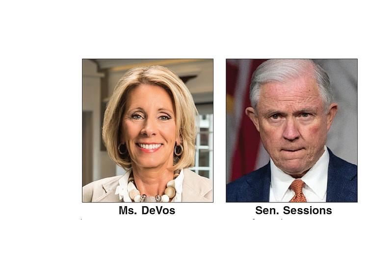 DeVos, Sessions confirmed | Richmond Free Press | Serving ...
