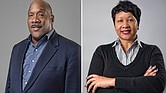 (left) Gregory Edwards appointed to Executive Vice President / Chief Operating Officer (right) Matilda Ivey takes on SVP / Director of Client Services Role