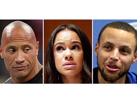 "Actor Dwayne ""The Rock"" Johnson and professional ballerina Misty Copeland have joined basketball star Stephen Curry in criticizing the CEO ..."