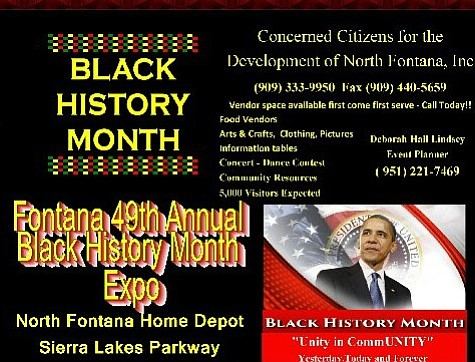 The Concerned Citizens for the Development of North Fontana and the North Fontana Black Awareness Parade invites you to celebrate ...