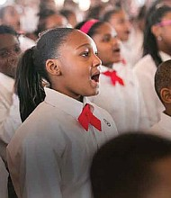 The Chicago Children's Choir will perform during Black History Month, Wednesday, February 22nd and Thursday, February 23rd at Symphony Center, 220 S. Michigan Ave. More than 3,600 CPS and charter