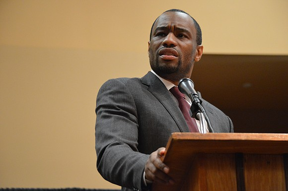 National television host Marc Lamont Hill fired up local students as he spoke on the significance of black history at ...