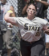 Alabama State downed Central Arkansas 7-5 for its first win of the year during the Sand Dollar Classic.