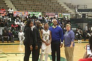 Mitchell's Vertonia Bady won the MVP for the SCIAA Girls A Division title. (Photo: Terry Davis)