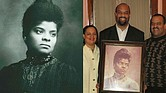 Ida B. Wells; her great-grandchildren Michelle, Daniel and Dave Duster (courtesy of Michelle Duster)