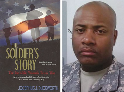 "Portland resident, retired Staff Sgt. Jocephus J. Duckworth has published a book to help his fellow combat veterans titled ""The ..."
