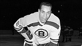 25-year-old left wing Willie O'Ree, the first black player of the National Hockey League, warms up in his Boston Bruins uniform, prior to the game with the New York Rangers, at New York's Madison Square Garden, on November 23, 1960. (Photo: AP via TheUndefeated.com)