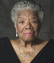 """Maya Angelou poses for a portrait photo in 2011. The first feature documentary on the author and activist '""""Maya Angelou: And Still I Rise,' will be broadcast Tuesday, Feb. 21 at 8 p.m. on OPB Channel 10."""
