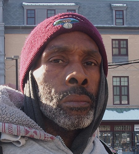 No. He's hired family members as staff and his staff is falling apart. — Clarence Young, Disabled, Boston
