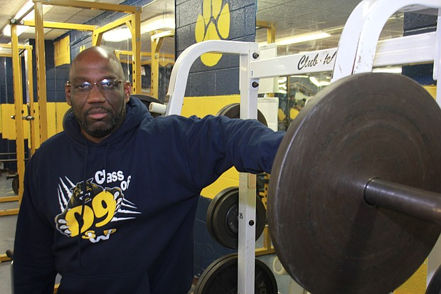 Coach Damien Wimes, new coach of Southwest DeKalb High School