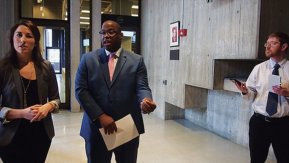 City Councilor Tito Jackson announced last week that he had introduced legislation to create an Immigrant Legal Defense Fund for ...