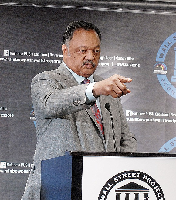 The Rev. Jesse Jackson kicked off his Rainbow PUSH Coalition's 20th Annual Wall Street Project Economic Summit on Wednesday at ...