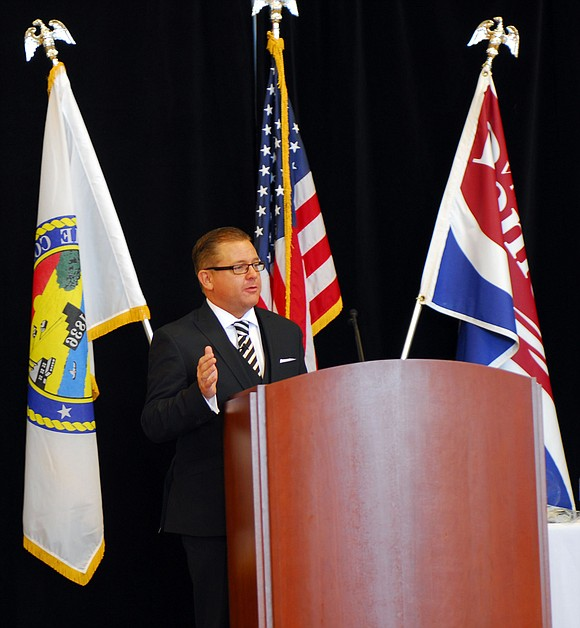 Romeoville Mayor John Noak presented the Annual Romeoville State of the Village Address last week.