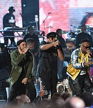 A Tribe Called Quest blazed the Grammys in a major way
