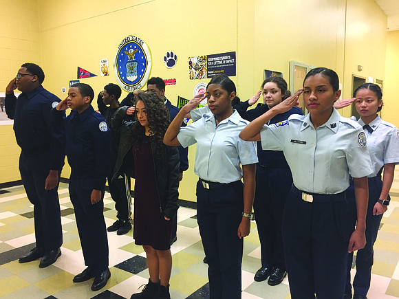 Students at Tucker High School are excelling in the Air Force's Junior Reserve Officer Training Corps program, achieving the highest ...
