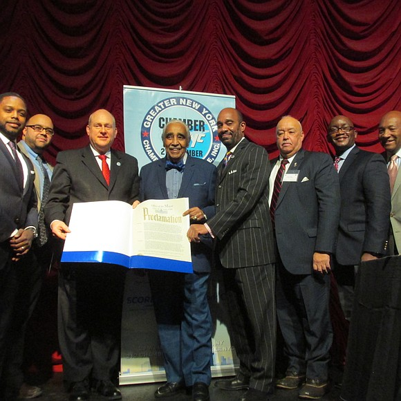 The Greater New York Chamber of Commerce hosted its Black History Month Awards breakfast Friday, Feb. 10, at the Hard ...