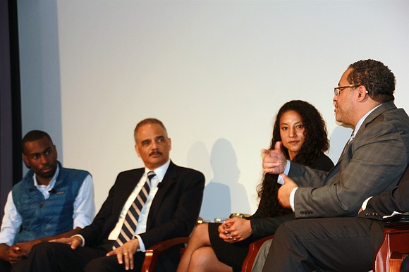Former U.S. Attorney General Eric Holder said US history is pockmarked with many instances of using law enforcement and the ...