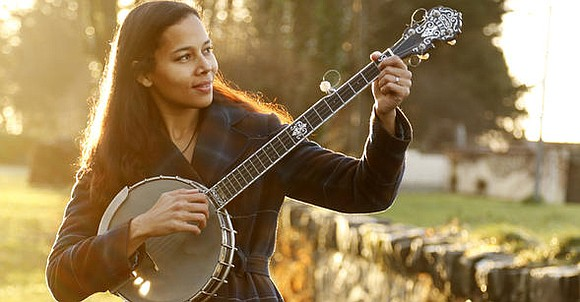 Rhiannon Giddens, the Grammy-award winning musician and lead singer of the Black folk trio Carolina Chocolate Drops, is gearing up ...