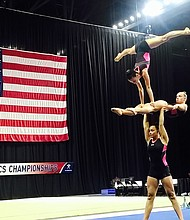 Sophia Handel, a 12th grader at George Washington University Online High School (GWUOHS), has been passionate about gymnastics since she was nine years old. The Russian-born gymnast