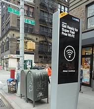 LinkNYC kiosk