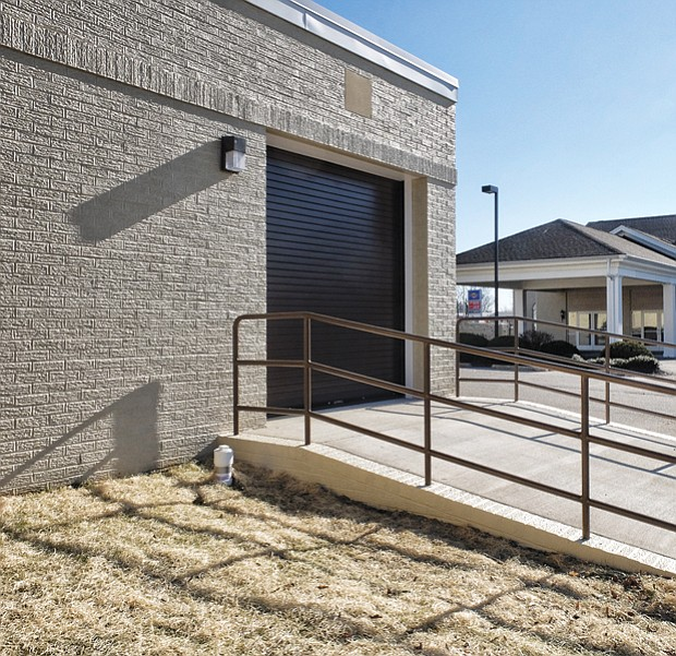 Funeral home's new addition // The facility, which opened last week and cost about $450,000, is located across the parking lot from the funeral home's chapel.