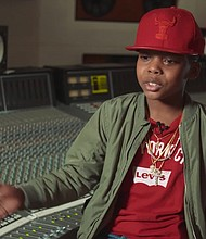 Lil C, 10, is a fifth-grade rapper who seeks to spread 'positive hip-hop'.