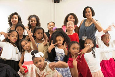 """The Baltimore Chapter of Jack and Jill of America, Inc. in partnership with Baltimore Center Stage presented """"The Ground On ..."""