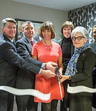 Mayor Catherine Pugh, City Council President Jack Young and other city officials, community leaders and  property managers/developers celebrated the grand opening of the new apartment community Mulberry at Park in Baltimore City on Wednesday, February 15, 2017.