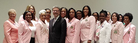 The Alzheimer's Association NYC chapter announced a new partnership with Alpha Kappa Alpha Sorority, Inc., Delta Rho Omega chapter, in ...