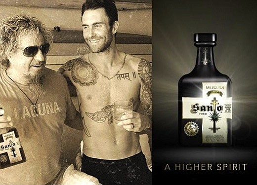 Marking a first in the spirits industry, Sammy Hagar and Adam Levine announce the launch of Santo Mezquila, a premium ...