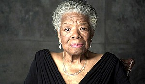 Dr. Maya Angelou on the set of Oprah's Master Class, circa January 2011. – Photo courtesy of