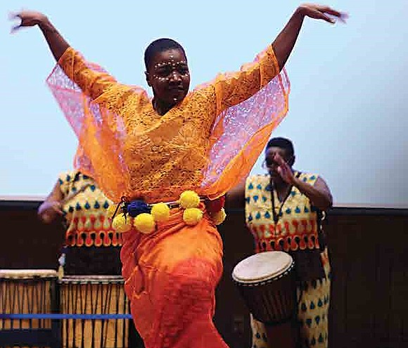 "Northwestern University's Student Aairs Marketing Organization kicked off Black History Month by celebrating the African tradition called ""Harambee""."