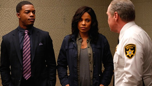 """Love and Basketball"" star Sanaa Lathan returns to television in the new 10-hour Fox mini-series ""Shots Fired."""