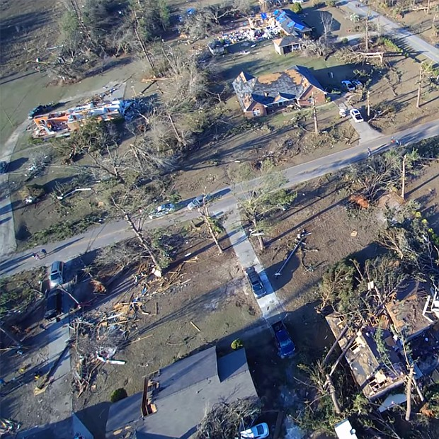 DeKalb residents can donate schoool supplies, and cases and jugs of water through Feb. 28 to help the City of Albany which was ravished by tornados.