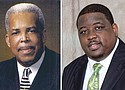 Rev. Dr. LeRoy Haynes Jr. (left) and Rev. J. Walter Hills II (right)