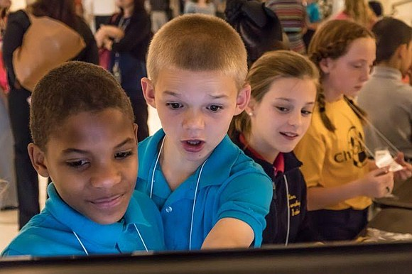 MHS students are exposed to career-based programming as early as fourth grade