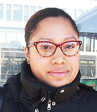 Yes. Because we always have cameras on us. Why can't the law be watched as well. — Rosa Morales, Administrative Assistant, Roxbury