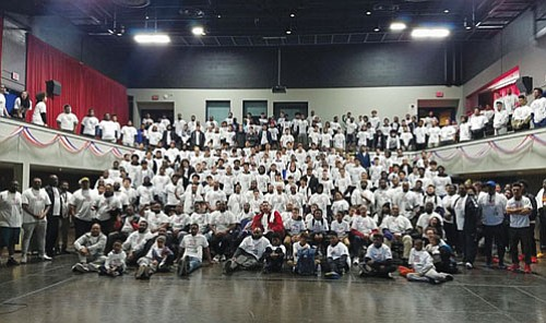"""Hundreds of youth, male and female, near and far, collectively volunteered for the Center for Self Enhancement, Inc.'s Community """"Day ..."""