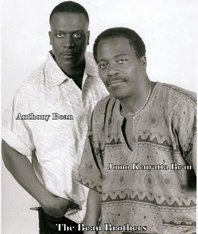 Known as The Bean Brothers. Jomo Kenyatta Bean, who was known as Monroe Bean until about 1990 and his younger ...