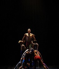 """Andrew Brader and company in """"Star Dust"""""""