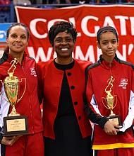 (L to R): Lisa Edwards, Cheryl Toussaint, Rowan Houston