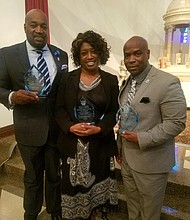 Dr. Samuel Gibbs, Kappa Alpha Psi Fraternity, Inc. Gwendolyn Dowdy-Rogers, Young Women's Empowerment Foundation.Terrence Stone, Young Visionaries