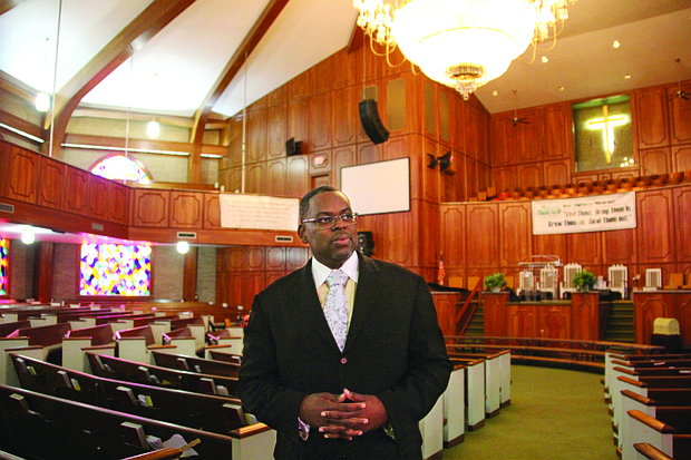 The Rev. Dr. Emory Berry Jr., the new senior pastor of Greenforest Community Baptist Church, brings a generational approach to the Decatur campus.