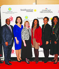 """Comcast, Smithsonian Channel and the Reginald F. Lewis Museum of Maryland African American History & Culture partnered to present a private screening of """"The Obama Years: The Power of Words"""" on February 9, 2017."""