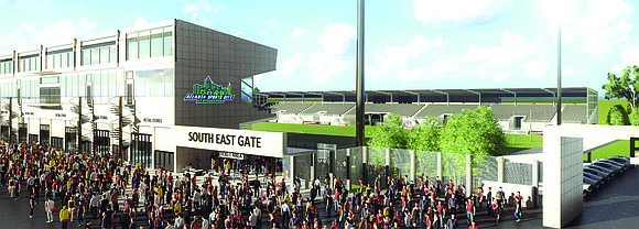 In two years, the city of Stonecrest will be home to two professional soccer teams and it will be hosting ...
