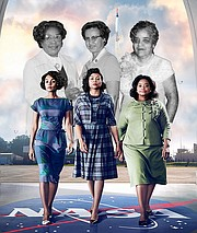 The Oscar-nominated Hidden Figures tells the story of three African American women – mathematician Katherine Johnson, programmer Dorothy Vaughan, and engineer Mary Jackson – who were top NASA scientists between 1943 and 1986 and were instrumental in the program's first successful space missions, including John Glenn's first flight into space.