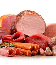 Red or processed meat
