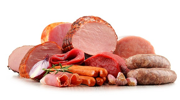 High intake of red and processed meat over a long period of time is associated with an increased risk of ...