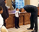 This 2009 photo of a 5-year-old Jacob Philadelphia went viral and became an instant classic.