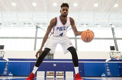 The Philadelphia Sixers traded Nerlens Noel to the Dallas Mavericks for guard-forward Justin Anderson, center Andrew Bogut and a 2017 ...